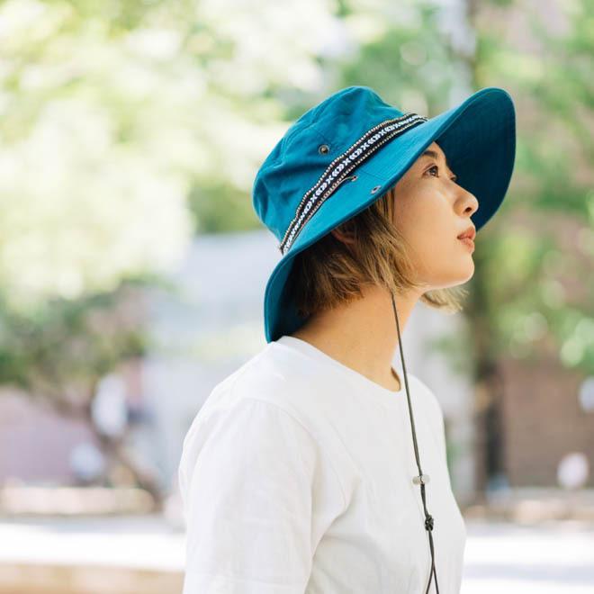 帽子 メンズ レディース Nakota (ナコタ) アクティビティ アウトドア ハット カジュアル ハット サファリハット ドローコード付き UVカット チロリアンテープ|nakota|16