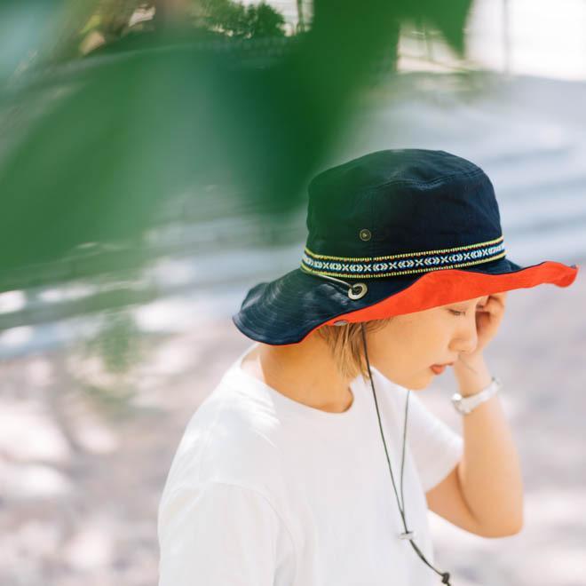 帽子 メンズ レディース Nakota (ナコタ) アクティビティ アウトドア ハット カジュアル ハット サファリハット ドローコード付き UVカット チロリアンテープ|nakota|17
