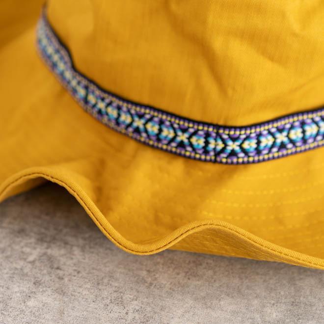 帽子 メンズ レディース Nakota (ナコタ) アクティビティ アウトドア ハット カジュアル ハット サファリハット ドローコード付き UVカット チロリアンテープ|nakota|06