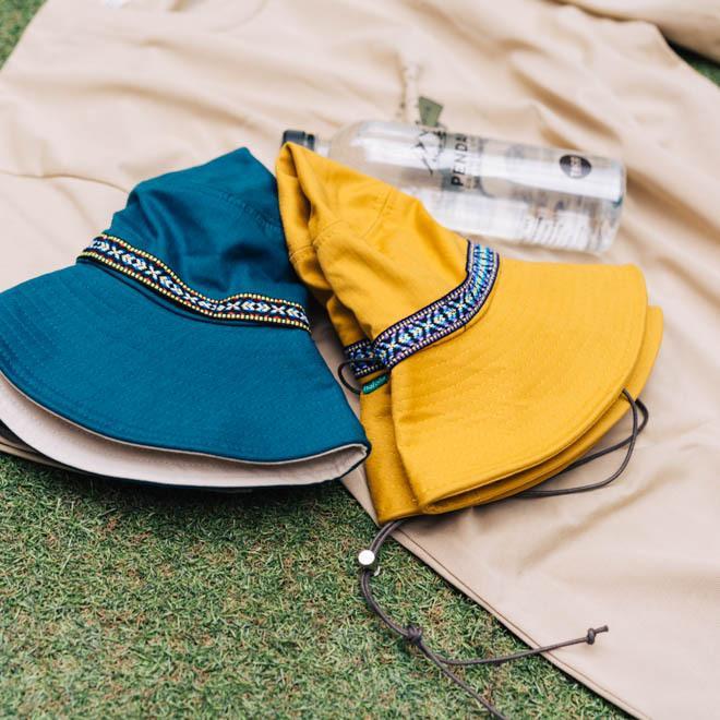 帽子 メンズ レディース Nakota (ナコタ) アクティビティ アウトドア ハット カジュアル ハット サファリハット ドローコード付き UVカット チロリアンテープ|nakota|07