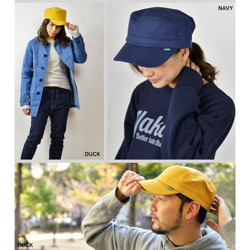 帽子 キャップ メンズ ワークキャップ 春 夏 大きいサイズ | nakota ( ナコタ ) ビッグキャンバスワークキャップ|nakota|05