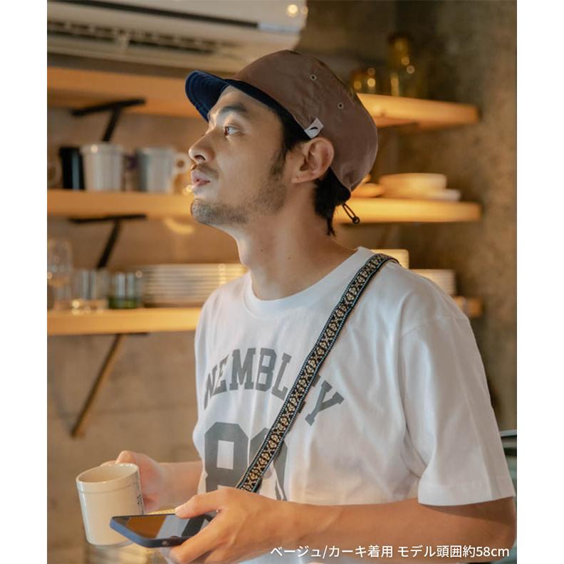 nakota ナコタ 撥水トレイルワークキャップ キャップ 帽子 大きいサイズ メンズ レディース 軽量 カジュアル シンプル 無地 ランニング 登山 キャンプ 春 夏|nakota|04