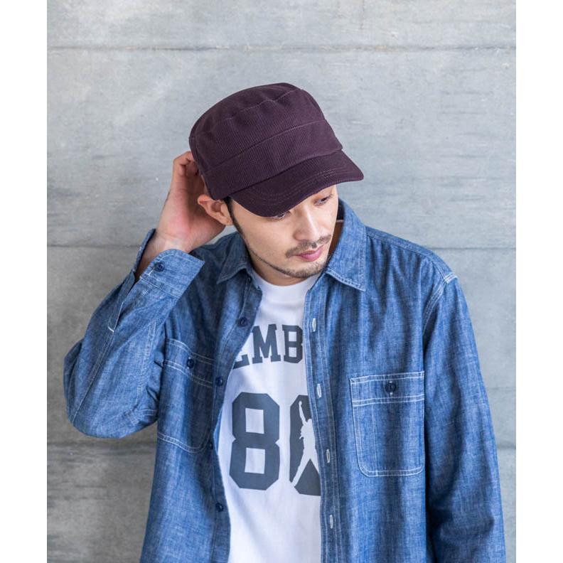 nakota ナコタ スウェットワッフルリブワークキャップ 帽子 大きいサイズ ビックサイズ ゆったり メンズ レディース 釣り キャンプ アウトドア 春 夏 吸水速乾|nakota|14