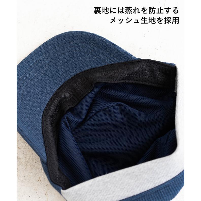 nakota ナコタ スウェットワッフルリブワークキャップ 帽子 大きいサイズ ビックサイズ ゆったり メンズ レディース 釣り キャンプ アウトドア 春 夏 吸水速乾|nakota|05
