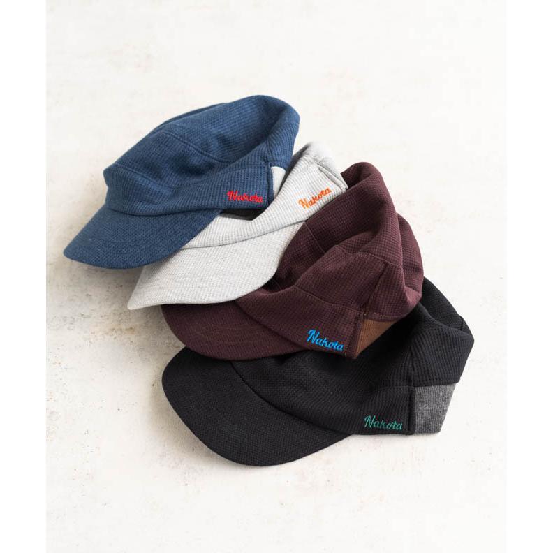 nakota ナコタ スウェットワッフルリブワークキャップ 帽子 大きいサイズ ビックサイズ ゆったり メンズ レディース 釣り キャンプ アウトドア 春 夏 吸水速乾|nakota|08