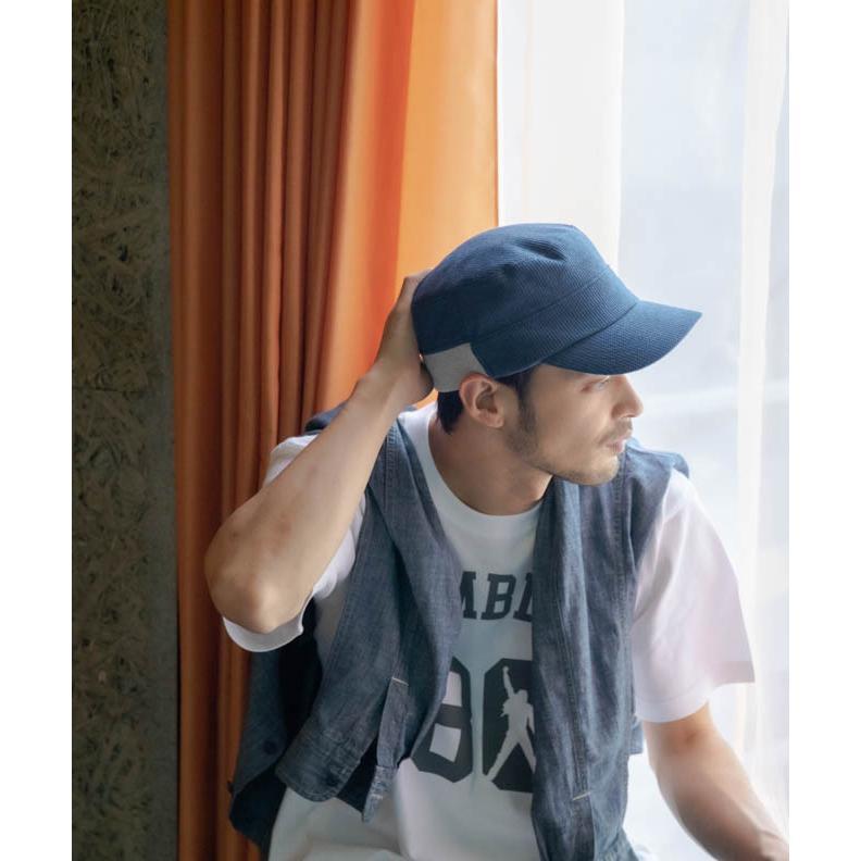 nakota ナコタ スウェットワッフルリブワークキャップ 帽子 大きいサイズ ビックサイズ ゆったり メンズ レディース 釣り キャンプ アウトドア 春 夏 吸水速乾|nakota|09