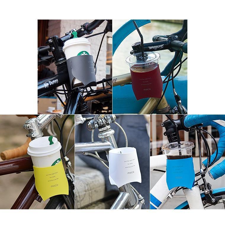 moca モカ カップホルダー ドリンクホルダー ホルダー 自転車 アクセサリー パーツ サイクリング 小物 コーヒー 日本製|nakota|03