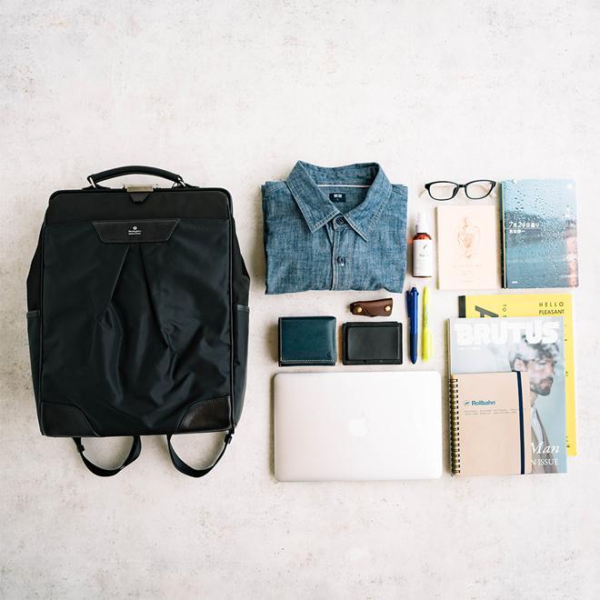 masterpiece マスターピース Tact Backpack バックパック ダレスバッグ 2WAY カバン 大容量 オシャレ メンズ レディース nakota 05