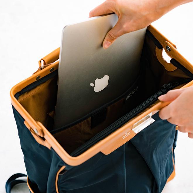 masterpiece マスターピース Tact Backpack バックパック ダレスバッグ 2WAY カバン 大容量 オシャレ メンズ レディース nakota 06