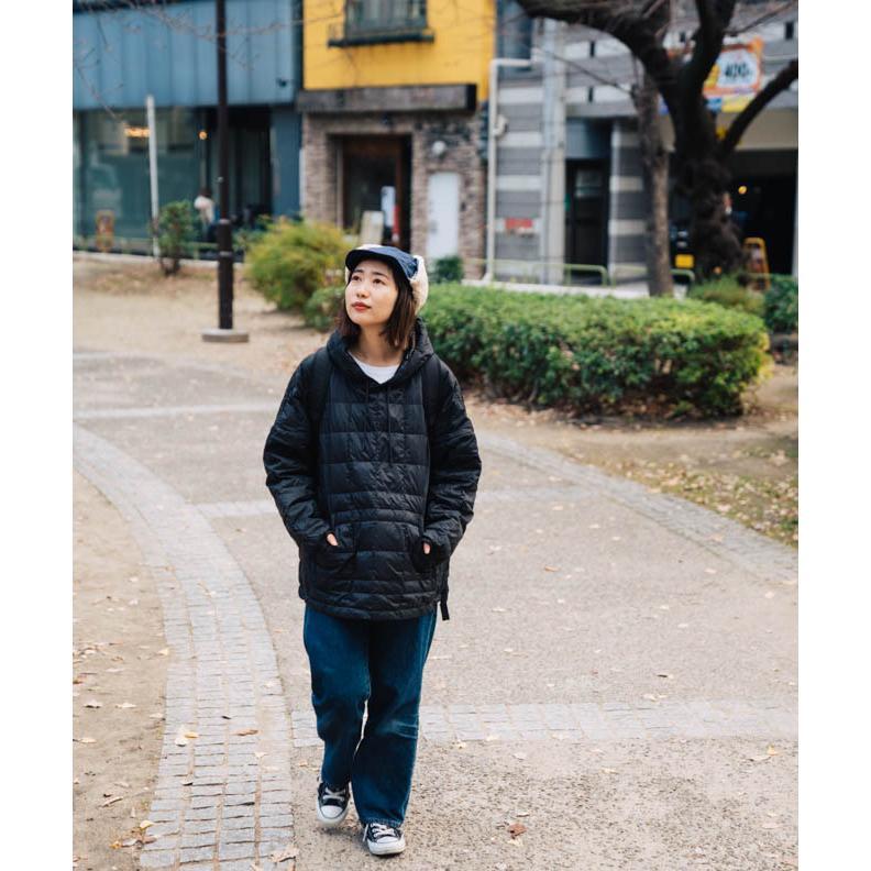 帽子 耳当て付き フライトキャップ メンズ レディース 登山 釣り キャンプ nakota ナコタ 撥水ナイロンフライトキャップ アビエイターキャップ ボア 防寒 冬|nakota|05