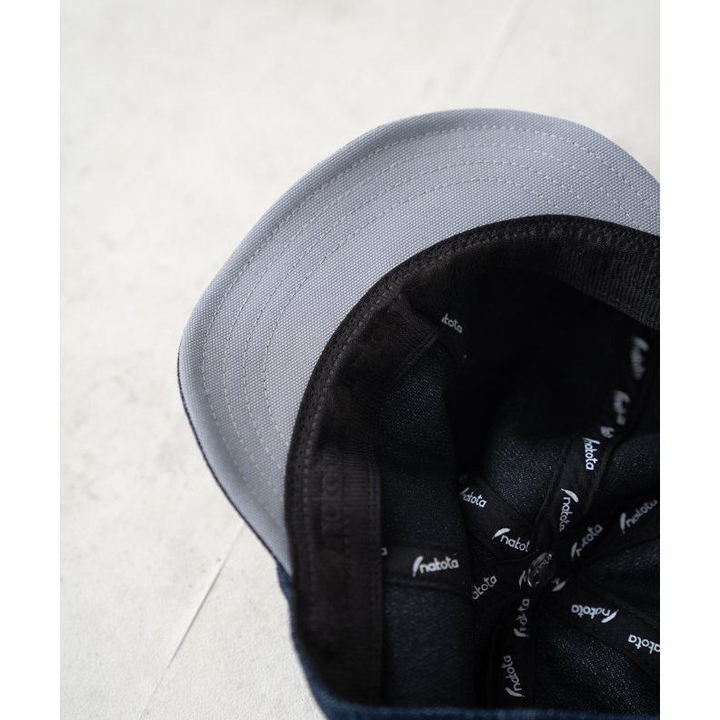 nakota ナコタ BOLD ROUND キャップ つば短  ベースボールキャップ 帽子 大きいサイズ  深い|nakota|12