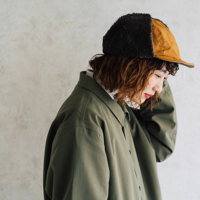 nakota ナコタ 帽子 ロクヨンクロス フライトキャップ パイロットキャップ 大きいサイズ メンズ レディース 軽撥水 nakota 03