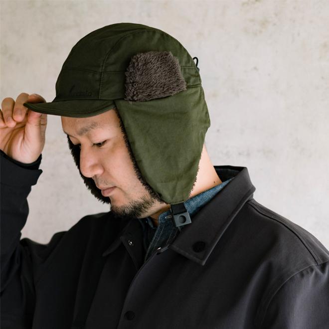 nakota ナコタ 帽子 ロクヨンクロス フライトキャップ パイロットキャップ 大きいサイズ メンズ レディース 軽撥水 nakota 05