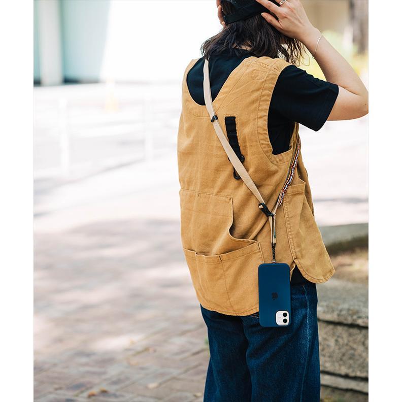 nakota × strapper daisy chain neck strap ナコタ×ストラッパー デイジーチェーンストラップ ネックストラップ 携帯ストラップ 手ぶら 斜め掛け|nakota|02