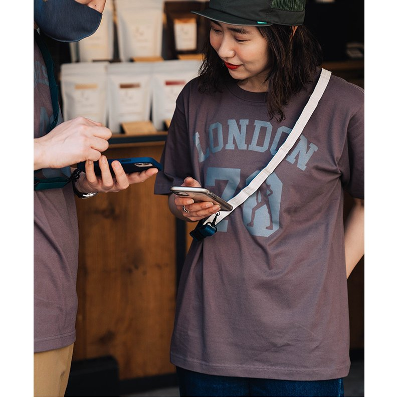 nakota × strapper daisy chain neck strap ナコタ×ストラッパー デイジーチェーンストラップ ネックストラップ 携帯ストラップ 手ぶら 斜め掛け|nakota|03