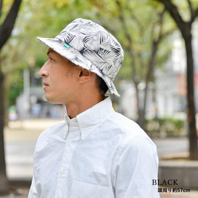 バケットハット 帽子 大きいサイズ nakota ナコタ ボタニカルリーフ ハット メンズ レディース|nakota|11