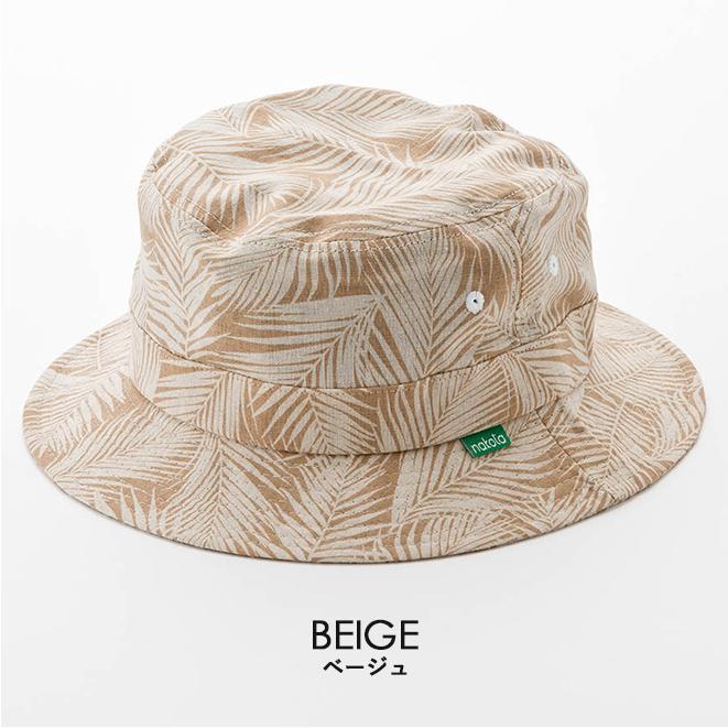 バケットハット 帽子 大きいサイズ nakota ナコタ ボタニカルリーフ ハット メンズ レディース|nakota|15