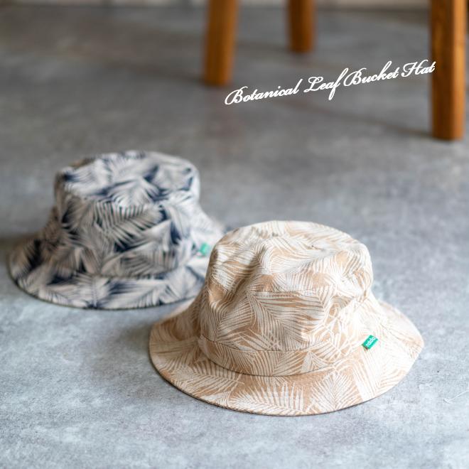 バケットハット 帽子 大きいサイズ nakota ナコタ ボタニカルリーフ ハット メンズ レディース|nakota|03