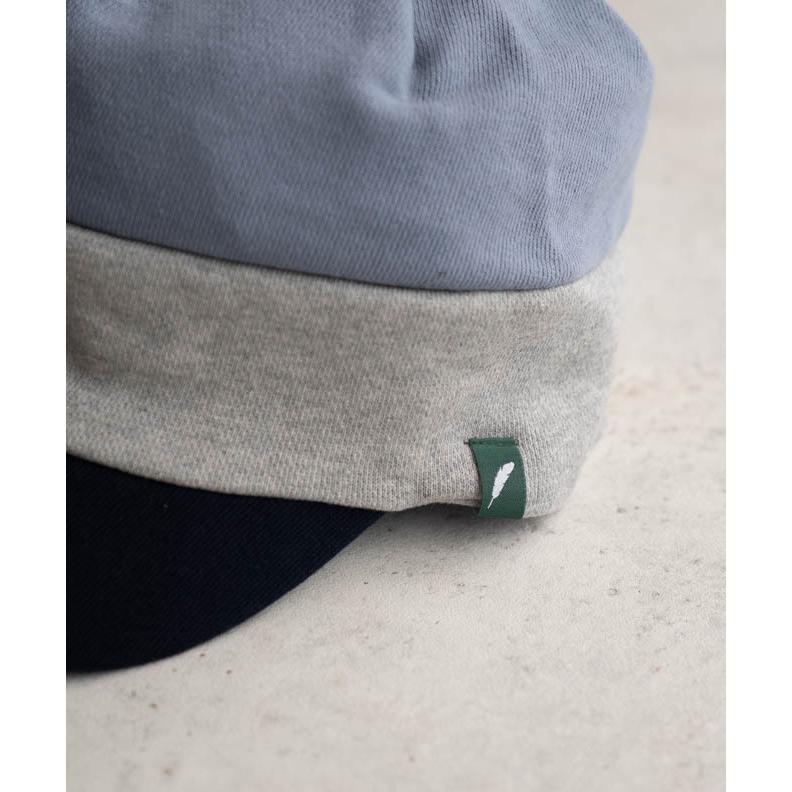 nakota ナコタ スウェットワークキャスケット 帽子 キャップ メンズ レディース トリコロール トライカラー 大きいサイズ ビッグサイズ ゆったり 秋 冬|nakota|13