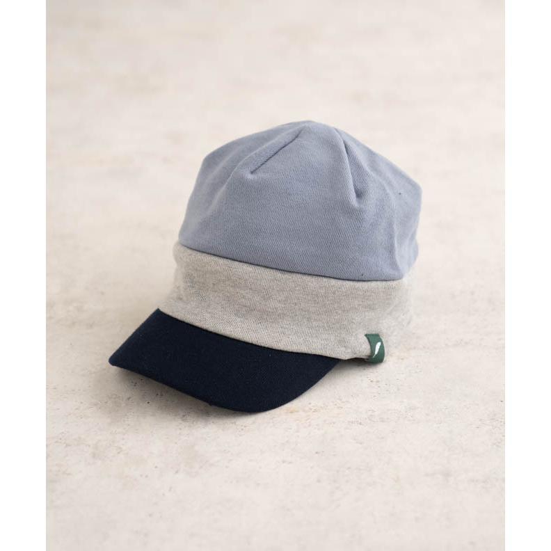 nakota ナコタ スウェットワークキャスケット 帽子 キャップ メンズ レディース トリコロール トライカラー 大きいサイズ ビッグサイズ ゆったり 秋 冬|nakota|15