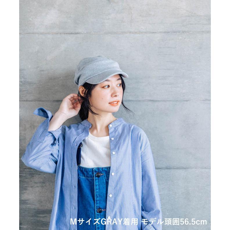 nakota ナコタ スウェットワークキャスケット 帽子 キャップ メンズ レディース トリコロール トライカラー 大きいサイズ ビッグサイズ ゆったり 秋 冬|nakota|03