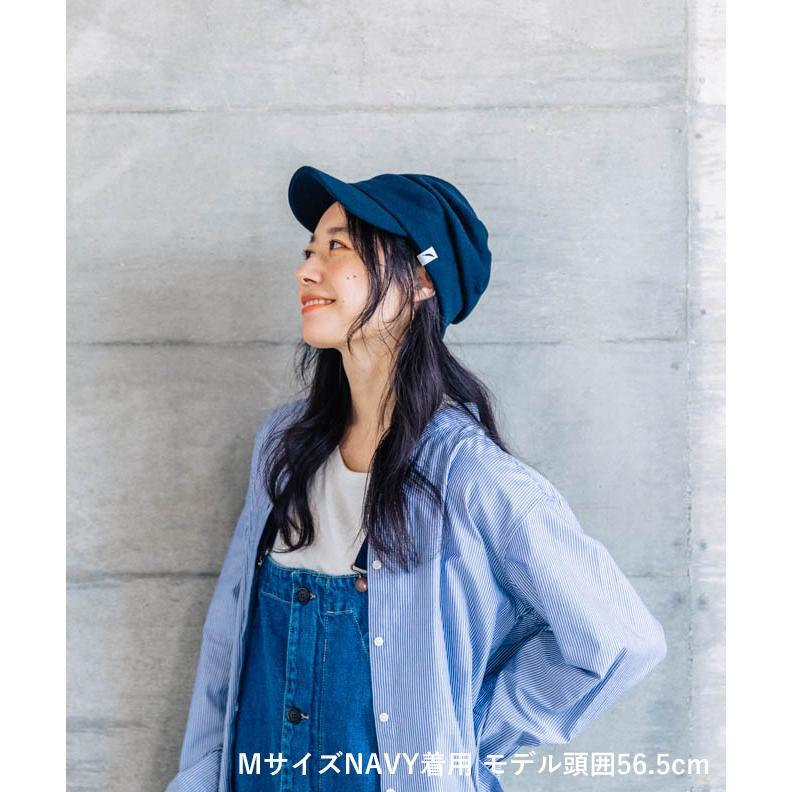 nakota ナコタ スウェットワークキャスケット 帽子 キャップ メンズ レディース トリコロール トライカラー 大きいサイズ ビッグサイズ ゆったり 秋 冬|nakota|08