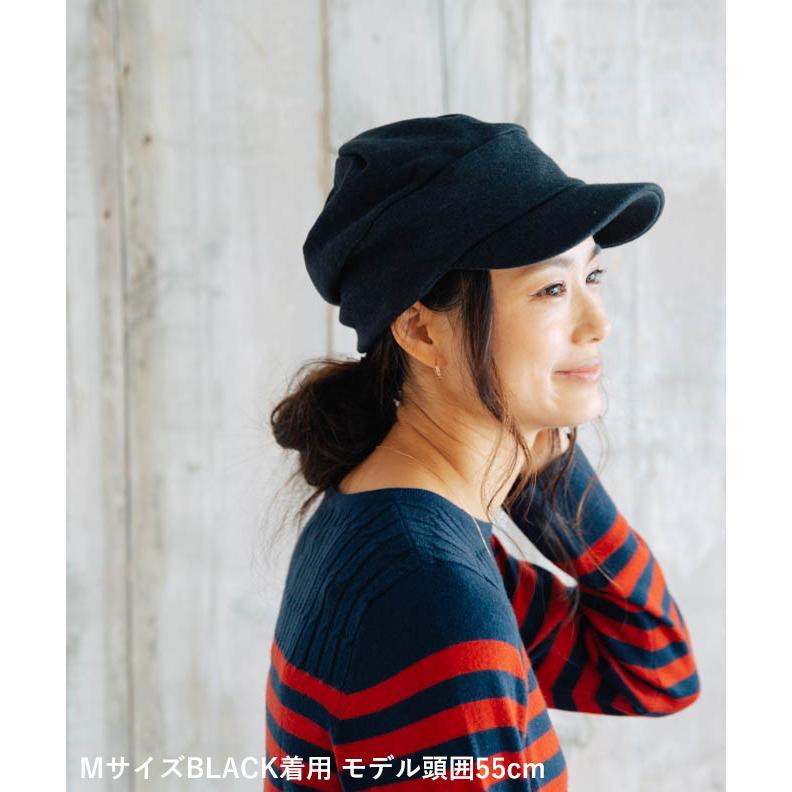 nakota ナコタ スウェットワークキャスケット 帽子 キャップ メンズ レディース トリコロール トライカラー 大きいサイズ ビッグサイズ ゆったり 秋 冬|nakota|09
