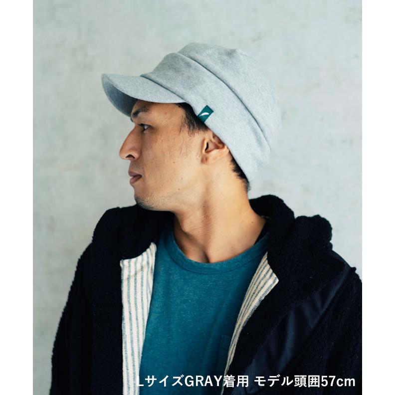 nakota ナコタ スウェットワークキャスケット 帽子 キャップ メンズ レディース トリコロール トライカラー 大きいサイズ ビッグサイズ ゆったり 秋 冬|nakota|10