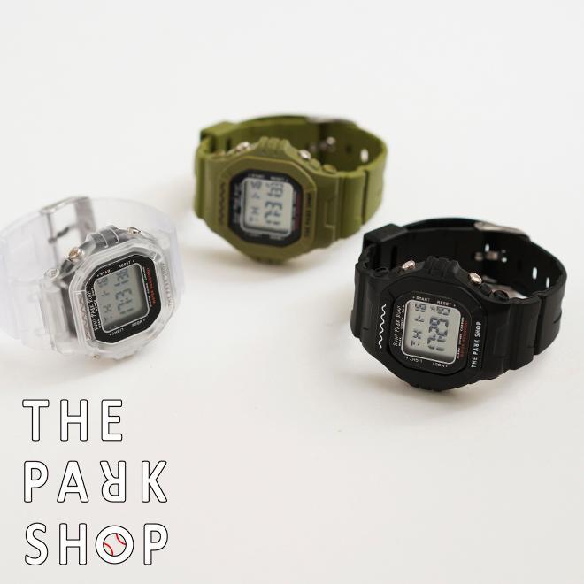 THE PARK SHOP ザ パークショップ TECHBOY WATCH 腕時計 デジタルウォッチ キッズ 子供 大人 親子 ペア nakota