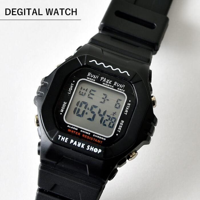 THE PARK SHOP ザ パークショップ TECHBOY WATCH 腕時計 デジタルウォッチ キッズ 子供 大人 親子 ペア nakota 02