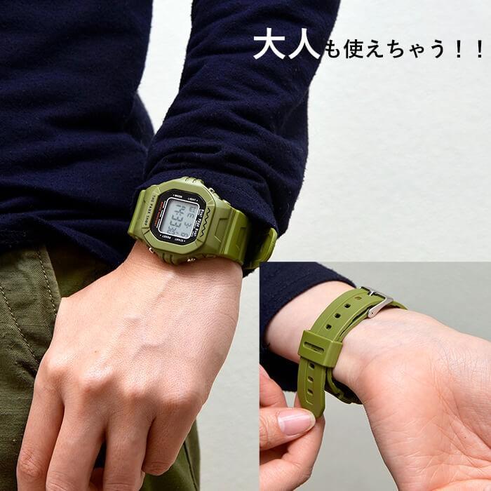 THE PARK SHOP ザ パークショップ TECHBOY WATCH 腕時計 デジタルウォッチ キッズ 子供 大人 親子 ペア nakota 04