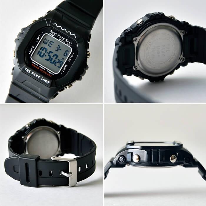 THE PARK SHOP ザ パークショップ TECHBOY WATCH 腕時計 デジタルウォッチ キッズ 子供 大人 親子 ペア nakota 05