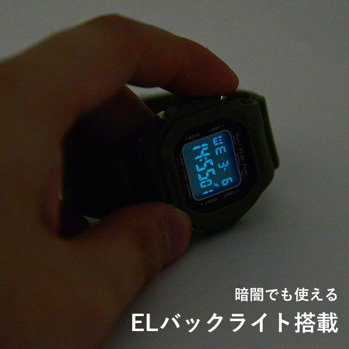 THE PARK SHOP ザ パークショップ TECHBOY WATCH 腕時計 デジタルウォッチ キッズ 子供 大人 親子 ペア nakota 07