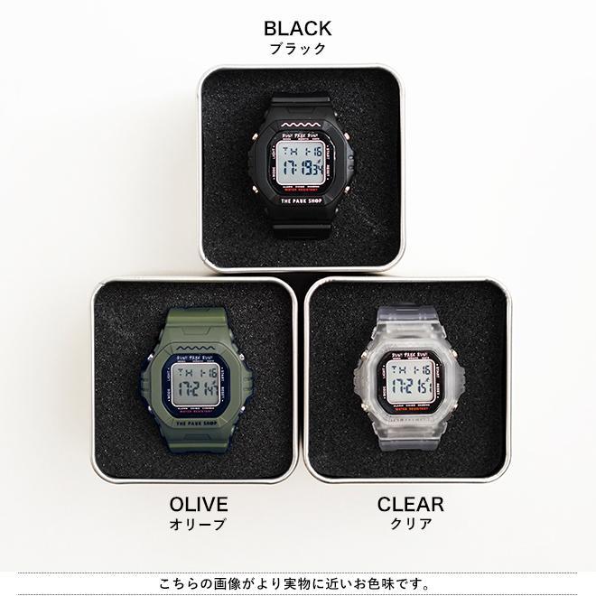 THE PARK SHOP ザ パークショップ TECHBOY WATCH 腕時計 デジタルウォッチ キッズ 子供 大人 親子 ペア nakota 09