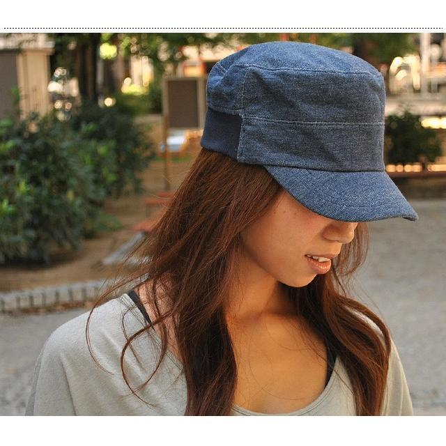 clef (クレ) リブ スウェット ワークキャップ 帽子 キャップ 2サイズ展開!小顔効果アリ季節を問わず年中被れるワークキャップ|nakota|06