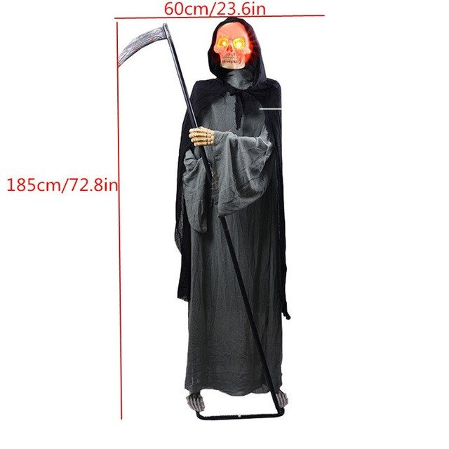 ハロウィーン 装飾電気 ホラー小道具おもちゃ 幽霊お化け屋敷人形 091