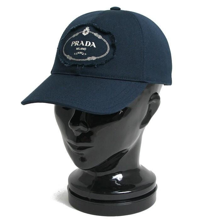 【予約中!】 プラダ PRADA ベースボールキャップ 帽子 2HC274 010 F0216 CANAPA カナパ ファブリック BALTICO (バルティコブルー), ラグビーノ 4b707184