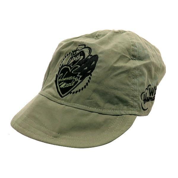 WTAPS ダブルタップス × HUMAN MADE ヒューマンメイド 19AW WT MILITARY CAP/CAP. COTTON. WEATHER. HUMAN MADE ミリタリー キャップ nanainternational