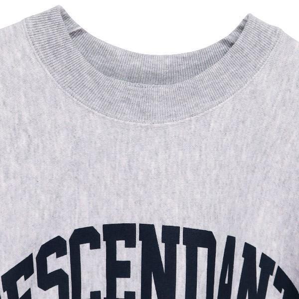DESCENDANT ディセンダント 19AW TEAM CREW NECK SWEATSHIRT 192ATDS-CSN27 チーム クルーネック スウェットシャツ|nanainternational|03