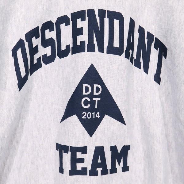 DESCENDANT ディセンダント 19AW TEAM CREW NECK SWEATSHIRT 192ATDS-CSN27 チーム クルーネック スウェットシャツ|nanainternational|04