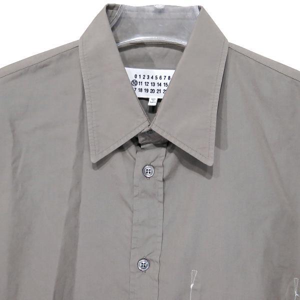 Maison Margiela メゾン マルジェラ コットンシャツ S50DL0393 S39545 nanainternational 03