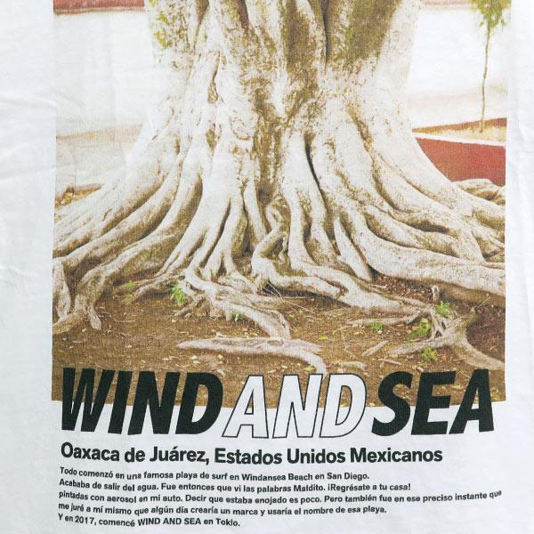 WIND AND SEA  ウィンダンシー VIENTO Y MAR Tシャツ|nanainternational|04