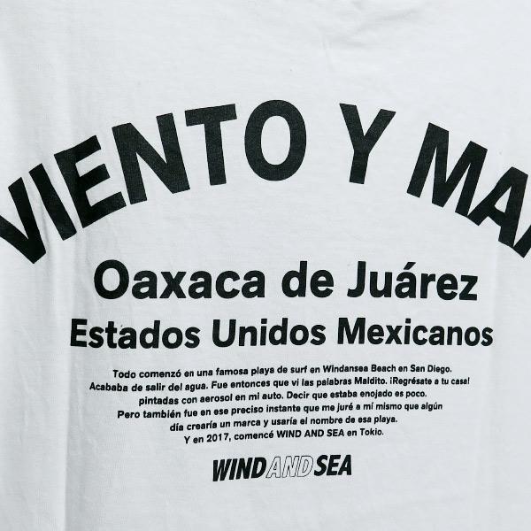 WIND AND SEA  ウィンダンシー VIENTO Y MAR Tシャツ|nanainternational|05