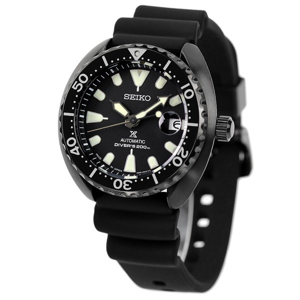 セイコー プロスペックス ダイバー スキューバ ネット流通限定モデル タートル メンズ 腕時計 SBDY087 SEIKO PROSPEX オールブラック 黒|nanaple-ya|02
