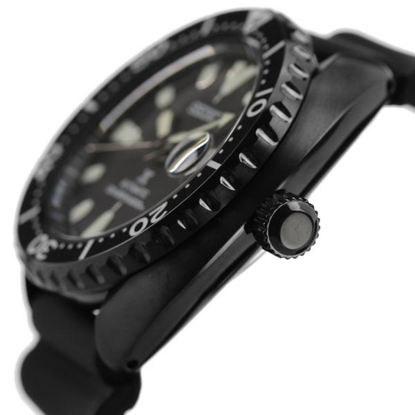 セイコー プロスペックス ダイバー スキューバ ネット流通限定モデル タートル メンズ 腕時計 SBDY087 SEIKO PROSPEX オールブラック 黒|nanaple-ya|03