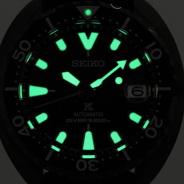 セイコー プロスペックス ダイバー スキューバ ネット流通限定モデル タートル メンズ 腕時計 SBDY087 SEIKO PROSPEX オールブラック 黒|nanaple-ya|07