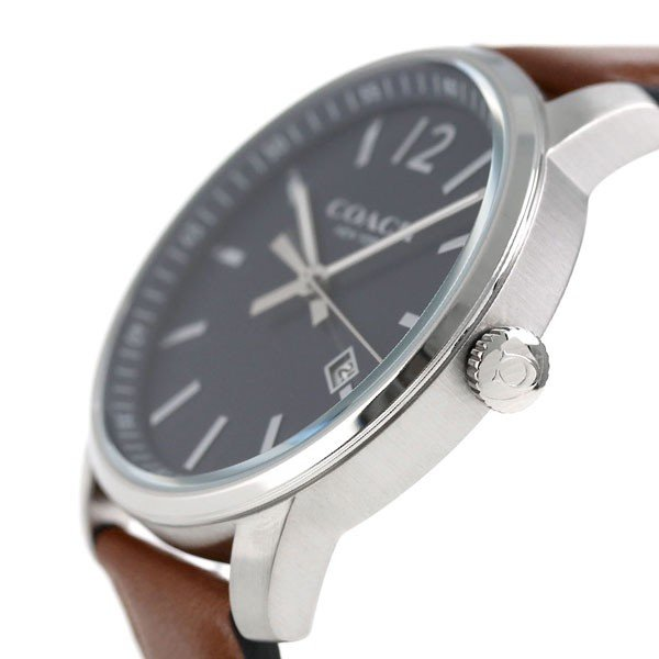 d6c98f0b3d8c COACH コーチ 腕時計 ブリーカー スリム メンズ 14602004 :14602004 ...