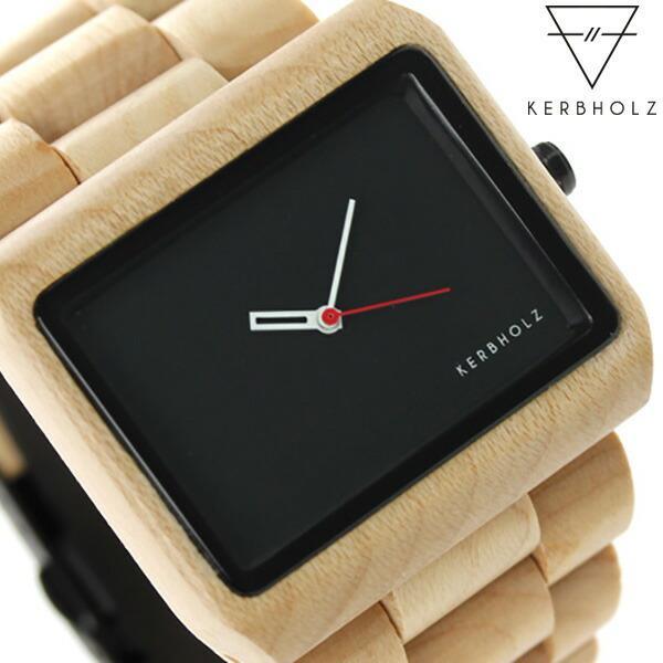 3b32075704 カーボルツ ライネケ 木製 メンズ 腕時計 9809001 :9809001:腕時計のなな ...