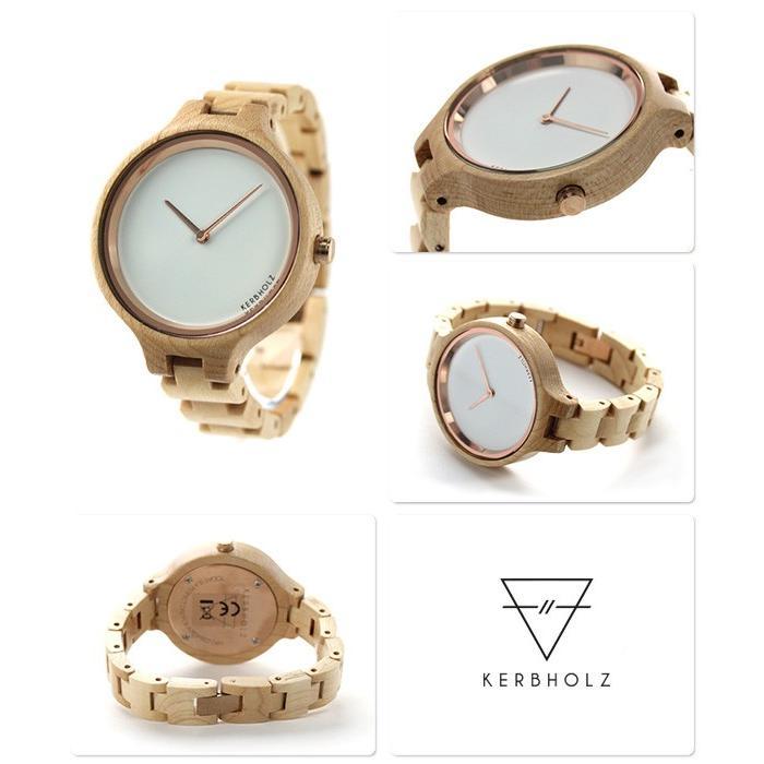 09a9f42291 カーボルツ ヒンゼ 木製 レディース 腕時計 9809007 :9809007:腕時計のな ...