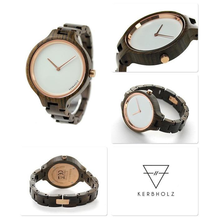 6cf0a91b65 カーボルツ ヒンゼ 木製 レディース 腕時計 9809009 :9809009:腕時計のな ...
